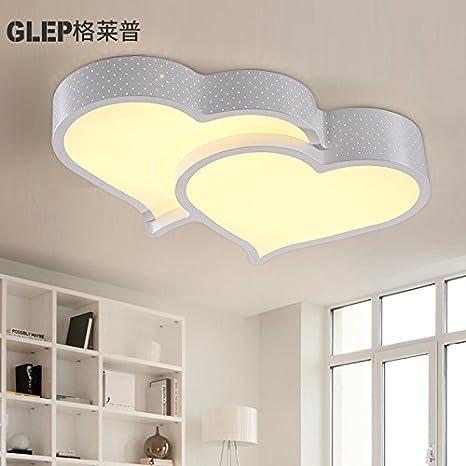 bgmdjcf LED de techo para niños y niñas a Creative Star Moon Beloved ...