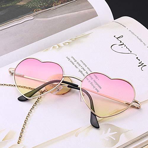 la Jaune américains vendre de gradation lunettes des la lunettes vite européens mode l'amour Poudre soleil de de soleil lunettes des vendre de coeurs des mode soleil 4qwp4Ur