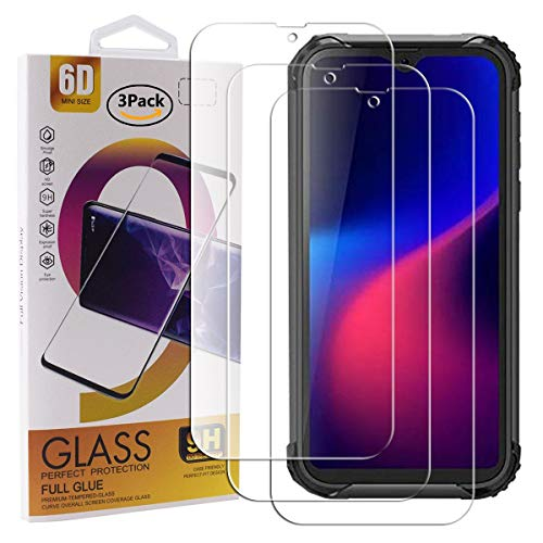 Guran 3 Pack Tempered Glass Screen Protector For Blackview BV5900 Smartphone Scratch Resistance Protection 9H Hardness…