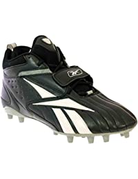 3f551d16747176 PRO Full Blitz Strap MP Mens Football Shoes Black White Silver 16 M. Reebok