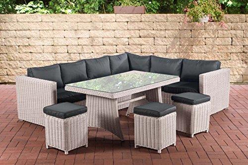 Amazonde Sitzgruppe Vienna L Rattan Gartengarnitur Für 10 Personen