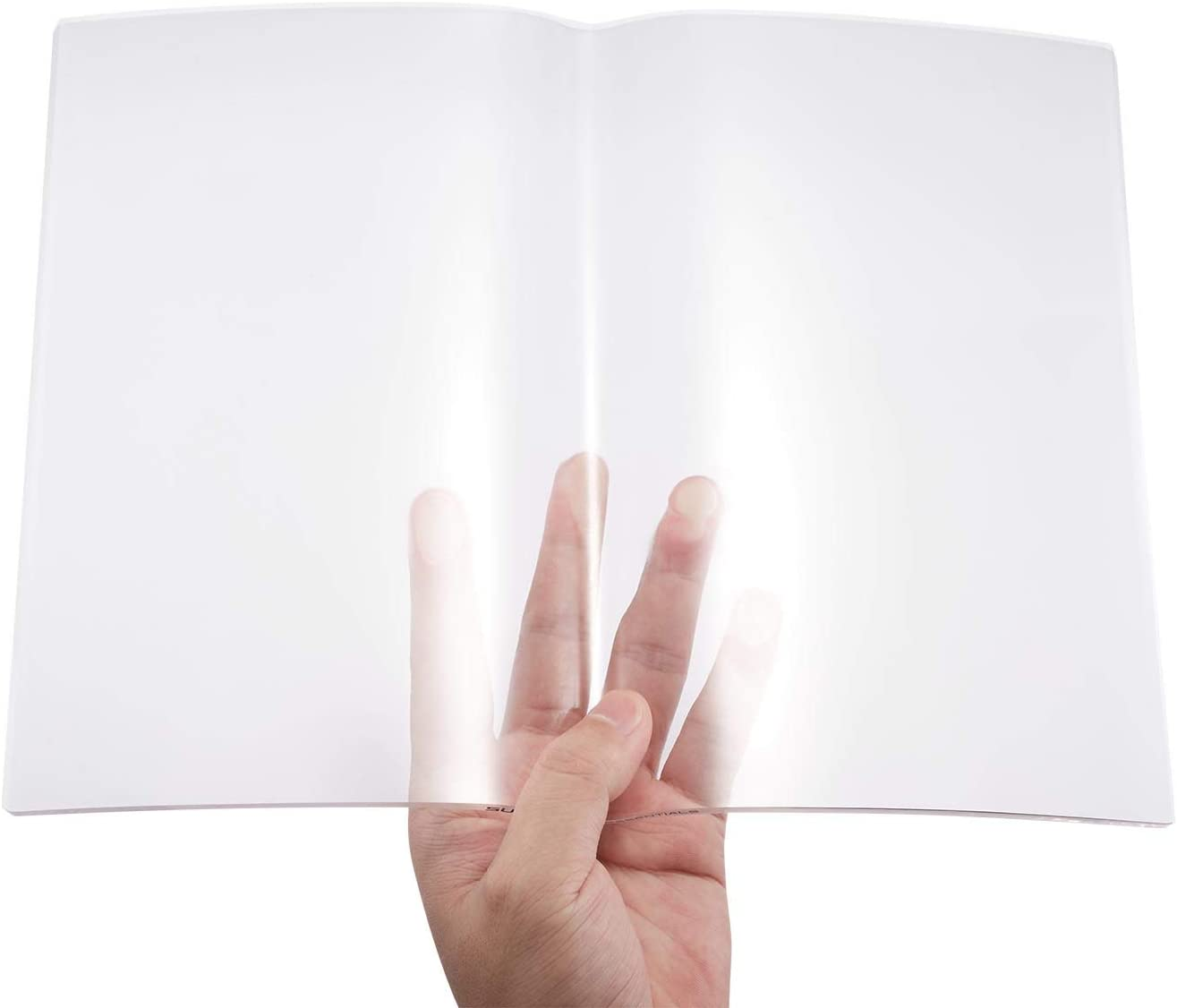 Clear Transparent book Page holder, opener