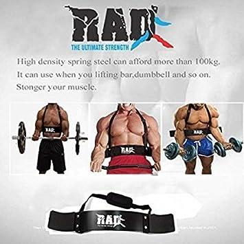 Aislador de bíceps de RAD, ideal para levantamiento de peso y entrenamiento de brazos: Amazon.es: Hogar