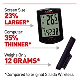 CAT EYE - Strada Slim Wireless Bike Computer, Black