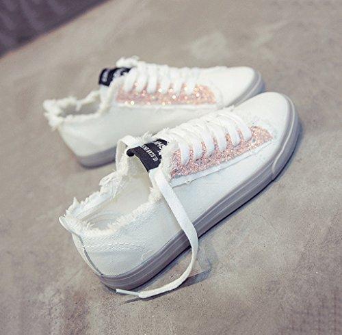 aire colores las de opcionales Los Verde ocasionales respirables al zapatos libre forman Pink 39 de Tama zapatos se lona los de 3 zapatos Color o planos los oras 7nRRqWgtx