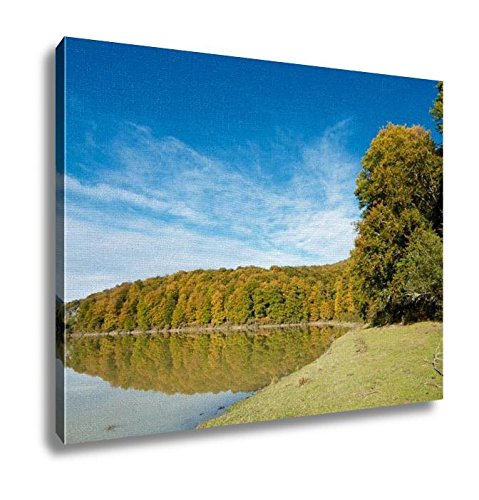 Ashley Canvas, Sunrise On Irabia Reservoir Irati Jungle Navarra Spain, Home Decoration Office, Ready to Hang, 20x25, AG5844376 by Ashley Canvas