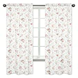 Riley's Roses Window Treatment Panels - Set of 2