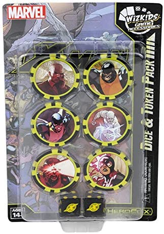 Marvel HeroClix: X-Men First Class Dice & Token Pack (Time Displaced): Amazon.es: Juguetes y juegos