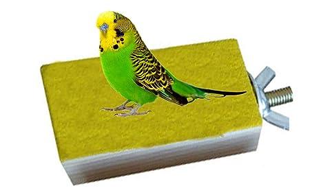 Keersi Plataforma de Madera para Jaula de pájaros, Percha para cotorros, periquitos, cacatúas y Otros pájaros de tamaño Similar