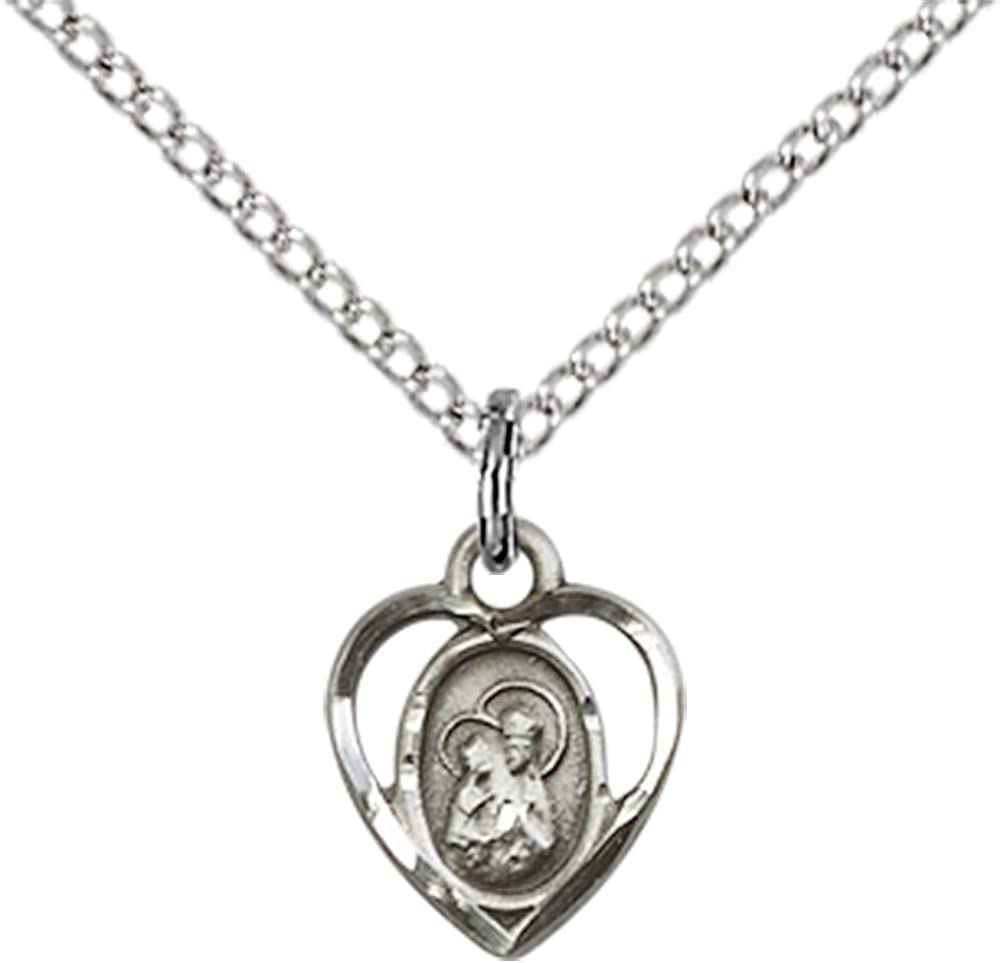 Ann Pendant Sterling Silver St TONYS JEWELRY CO