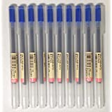 MUJI Gel Ink Ballpoint Pens 0.7mm Blue color 10pcs by MUJI
