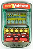 YAHTZEE Electronic Handheld Game 1995 CLEAR CASE EDITION (Includes Instructions)
