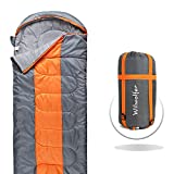 Cheap Sleeping Bag- Lightweight Comfort Envelope Portable Waterproof Compact with Compression Sack, Great for 4 Seasons Traveling, Camping, Hiking & Outdoor Activities