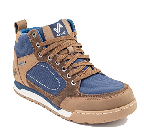 discount recommend cheap sale enjoy Forsake Clyde - Men's Waterproof Leather Hiking Shoe Brown/Navy outlet Manchester 6rTpW4Z