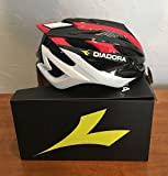 Diadora Cycling Adult Bicycle Helmet Pro-Racer 2.0 (Red / Black, Medium) For Sale