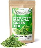 Organic Japanese Matcha Green Tea Powder – USDA & JAS Organic - Authentic Japanese Origin - Premium Culinary Grade - [100g Value Size]