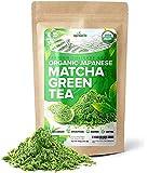 Organic Japanese Matcha Green Tea Powder – USDA & JAS Organic - Authentic Japanese Origin - Premium Culinary Grade…