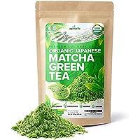 Organic Japanese Matcha Green Tea Powder – USDA & JAS Organic - Authentic Japanese...