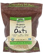 Now Foods Organic Steel Cut Oats, 907g