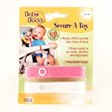 Secure-A-Toy 2ct Pink-White Case Pack 24