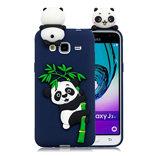 coque samsung j3 2016 panda mignon