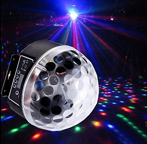 RGB Crystal Magic Ball Effect Light DMX512 Digital LED Effect Disco DJ Stage Lighting