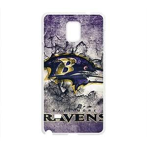 QQQO Baltimore Ravens 3 Hot Sale Phone Case for Samsung Note 4