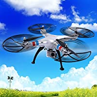 MD Group RC Quadcopter 6-Axis Gyro Explorers 4CH 1080p HD Camera Wind-resistant Syma X8G