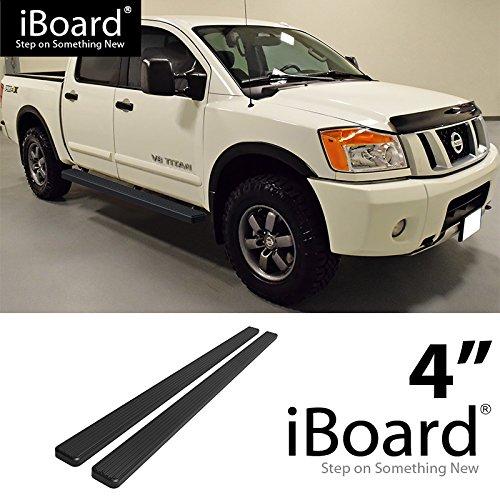 (Off Roader for 2004-2018 Nissan Titan Crew Cab Pickup 4-Door & 16-18 Titan XD (Nerf Bar | Side Steps) 4