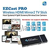 EZCast PRO Dongle Wireless Presentation Smart TV Stick High Speed MIMO 2T2R WiFi HDMI/MHL, Supports 4 to 1 Split Screens