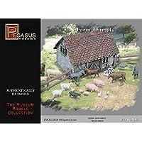 Animales de granja (64 piezas) 1-72 Pegasus