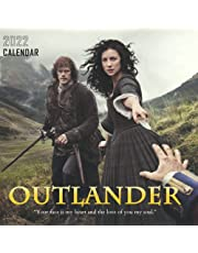 Outlander 2022 Calendar: Great Calendar 2021 2022 with 6 months bonus - large grid for scheduling and organizing!