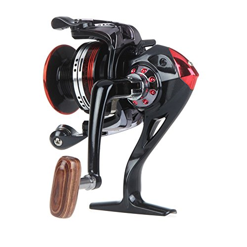 [Fishing Equipment-New Aluminum 12+1 BB Ball Bearing Fishing Spinning Reels High Speed 5.2:1 LK3000] (Party Supplies Hobart)
