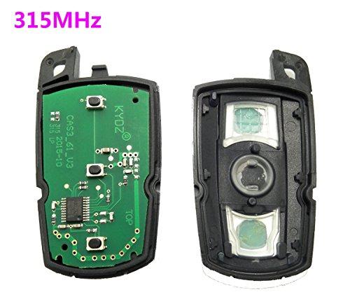 Keyless Entry Remote Control 315MHz Smart Car Key Fob