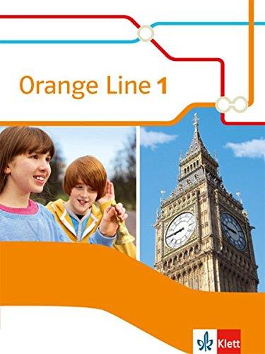 Orange Line 1: Schülerbuch (fester Einband) Klasse 5 (Orange Line. Ausgabe ab 2014)