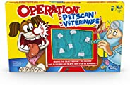 Operation Pet Scan Board Game for 2 or More Players, Kids Ages 6 and Up, with Silly Sounds, Remove The Objects
