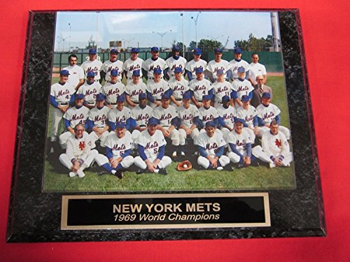 World Series Champions Collectors - 1969 Mets World Series Champions Collector Plaque #2 w/8x10 Photo