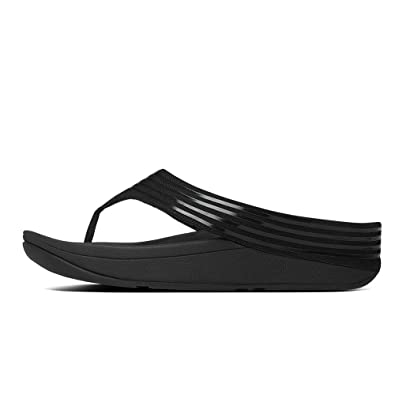 Looking For Womens Casual Shoes Fitflop Crystall Toe Post Black