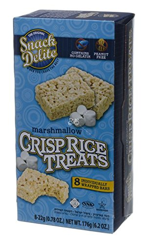The Original Snack Delite Marshmallow Crisp Rice Treats 6.2 oz. Pk Of 3.