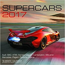 Supercars Month Calendar September Through December
