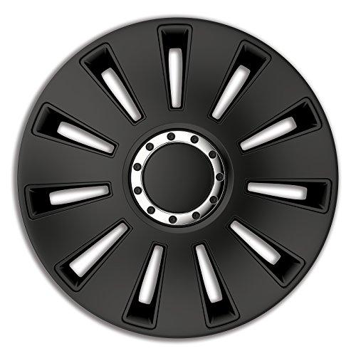 4pc Enjoliveurs de roues Slvt Pro Noir 14 pouces