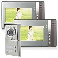 Zweifamilienhaus Video Gegensprechanlage Türsprechanlage Sprechanlage 2 x 7...
