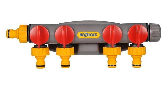 Hozelock 4-Wege-Hahnanschluss