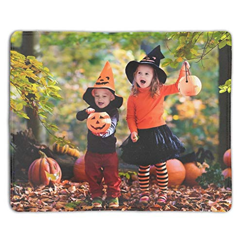 Holiday Halloween Anti-Slip Gaming Mouse pad Custom Mice Mat Laptop PC Locked Desk pad -