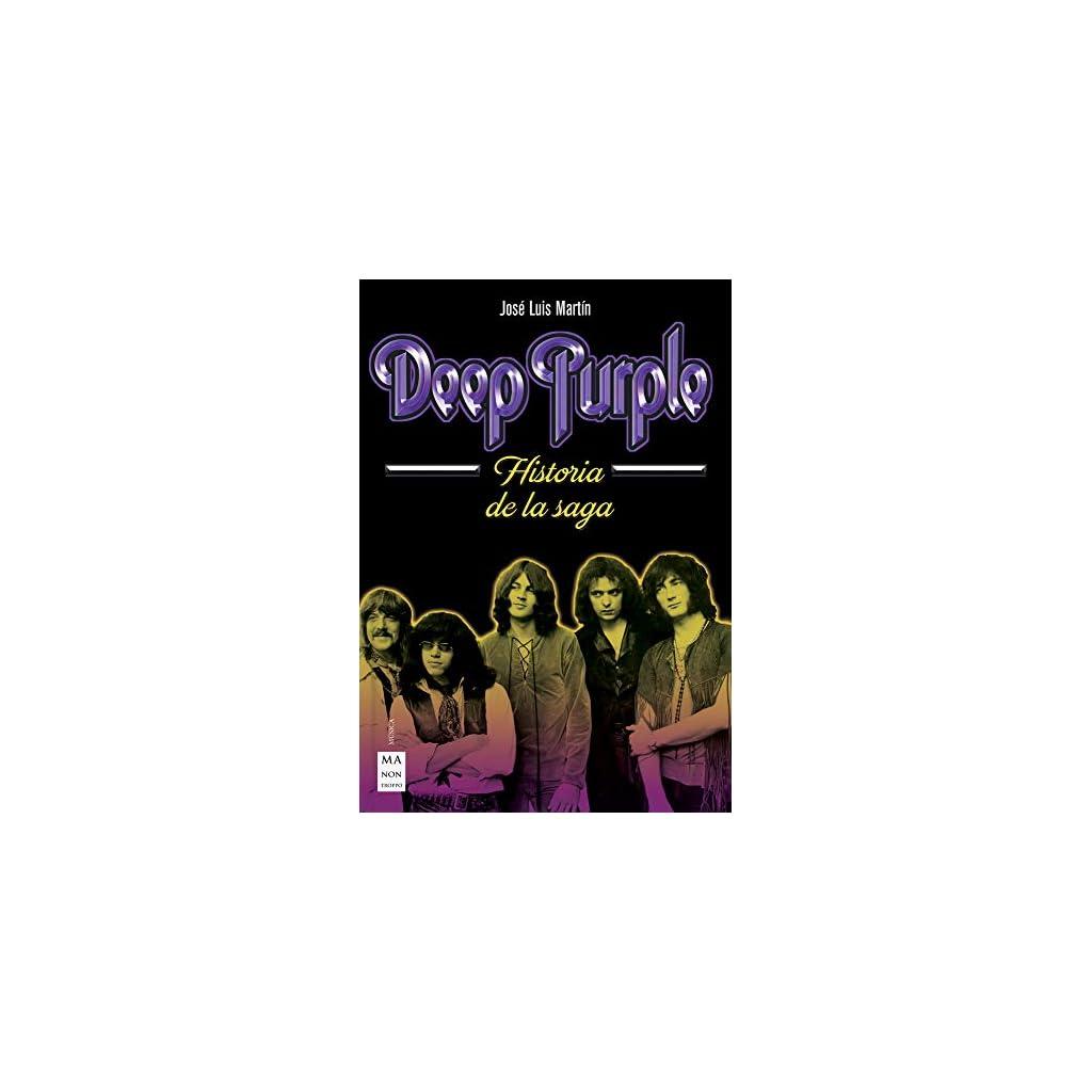 Deep Purple. Historia de la saga 2018 Tapa blanda