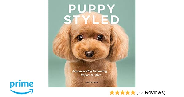 Amazon Com Puppy Styled Japanese Dog Grooming Before After