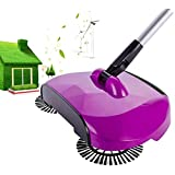 Just New Design sweeping machine , 360 Rotary Automatic Hand Push Sweeper Broom Household Cleaning