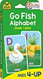 School Zone - Go Fish Alphabet Game Cards - Ages 4