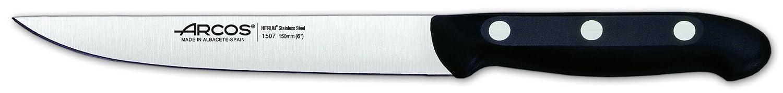 Set di Coltelli 4 Pezzi Manico Polipropilene - Lama Acciaio Inossidabile Nitrum 3 Coltello + 1 Forbici Arcos Serie Maitre