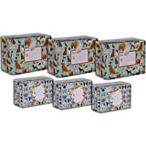 Jillson Roberts 6-Count Decorative Mailing Boxes Available in 5 Different Assortments, Assorted Sizes and Designs, Cats and Dogs